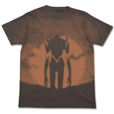Rebuild Of Evangelion Unit 03 T-shirt Charcoal (XL Size) [Re-run]