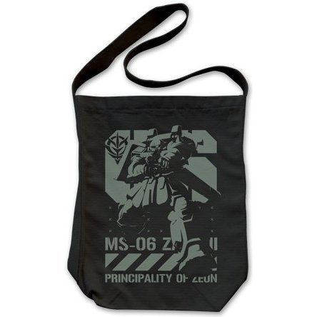 Mobile Suit Gundam Thunderbolt - Thunderbolt Ver. Zaku Shoulder Tote Bag Black