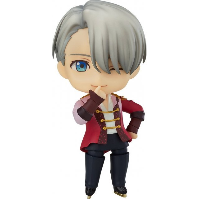 NEW Nendoroid 741 YURI!! on ICE VICTOR NIKIFOROV Figure ORANGE ROUGE from Japan