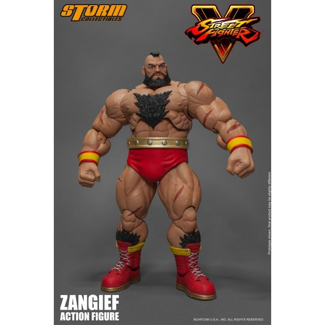 Street Fighter V 1/12 Scale Pre-Painted Action Figure: Zangief