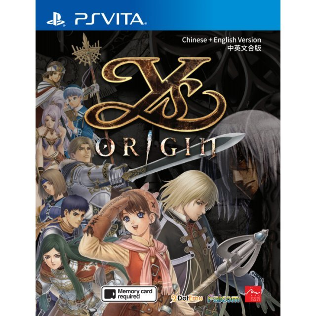 Ys Origin (Multi Language)