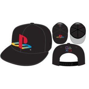 657943fb63813 PlayStation x New Era Cap Black (Type A-PS)