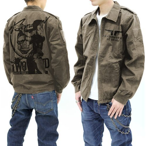 Black Lagoon Revy Tour Jacket Olive (L Size) [Re-run]
