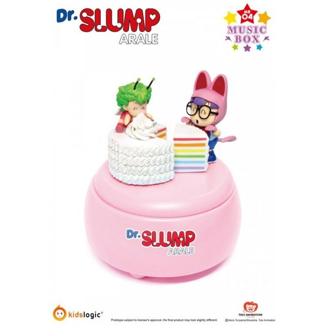Dr. Slump Arale Music Box Happy Birthday Ver.