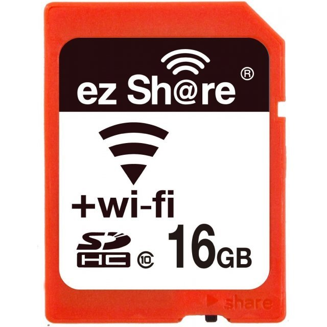 EZ Share Wifi SDHC 16GB, 2nd Gen/Class 10