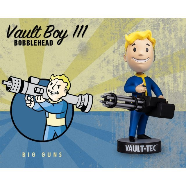 Fallout 4: Vault Boy 111 Bobbleheads Series Three: Big Guns
