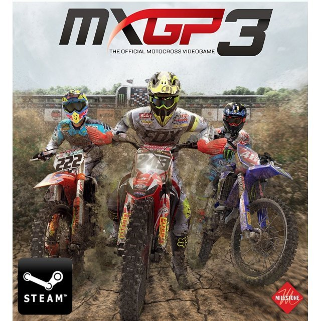 MXGP3: The Official Motocross Videogame (Steam)