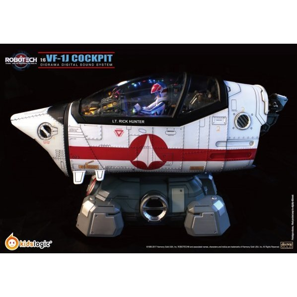 Robotech Macross VF-1J  1/6 Scale Cockpit Diorama Digital Sound System