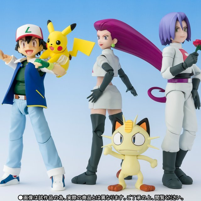 S.H.Figuarts Pokemon: Satoshi & Team Rocket (Limited Edition)