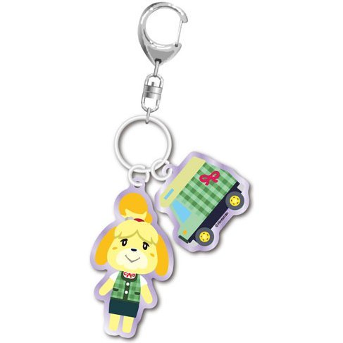 Animal Crossing Acrylic Keychain: Isabelle