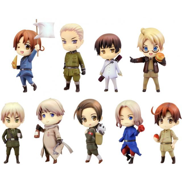 One Coin Grande Figure Collection Hetalia Axis Powers Renewal Package Ver. (Set of 9 pieces)