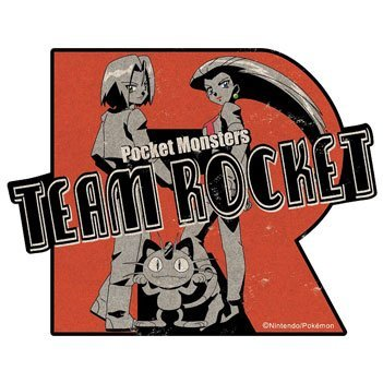 Pokemon Travel Sticker: Team Rocket