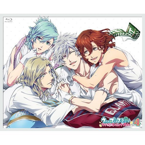 Uta No Prince-sama - Maji Love Legend Star 4 [Blu-ray+CD]