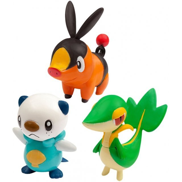Pokemon Monster Collection EX 20th Anniversary: Three Pokemon of Departure Vol.5 Isshu Region