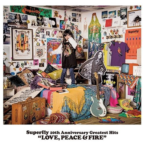 j pop superfly 10th anniversary greatest hits love peace and