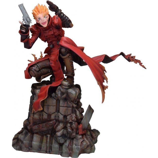 Trigun Badlands Rumble 1/6 Scale Pre-Painted Figure: Vash the Stampede Hold Up Ver.
