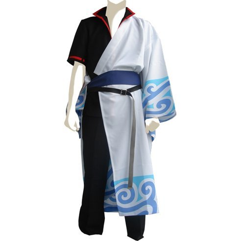 Gintama Gintoki Sakata Costume Set (M Size)