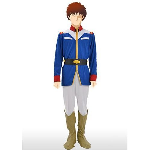 Mobile Suit Gundam Earth Federation Mens Uniform - Blue Ver. (M Size)