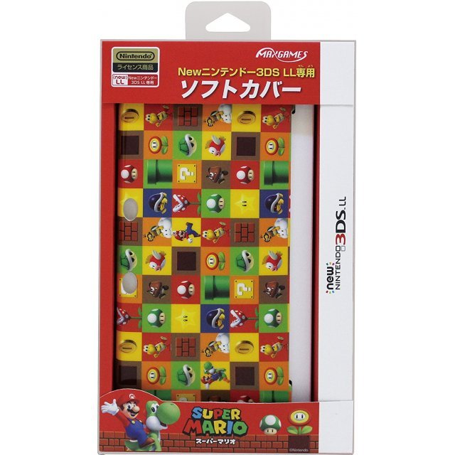 Soft Cover for New 3DS LL (Super Mario)