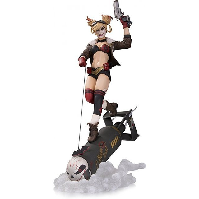 DC Collectibles Bombshells Harley Quinn 1/8 Scale Deluxe Statue