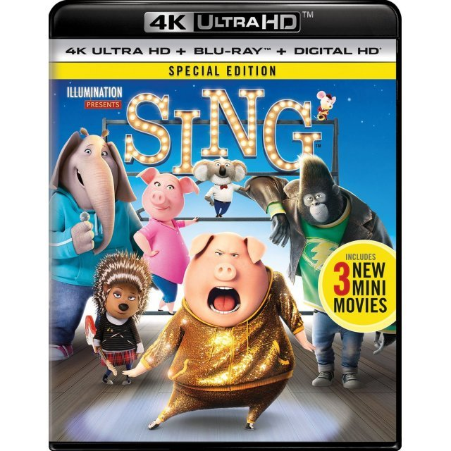 Sing (Special Edition) [4K Ultra HD Blu-ray]