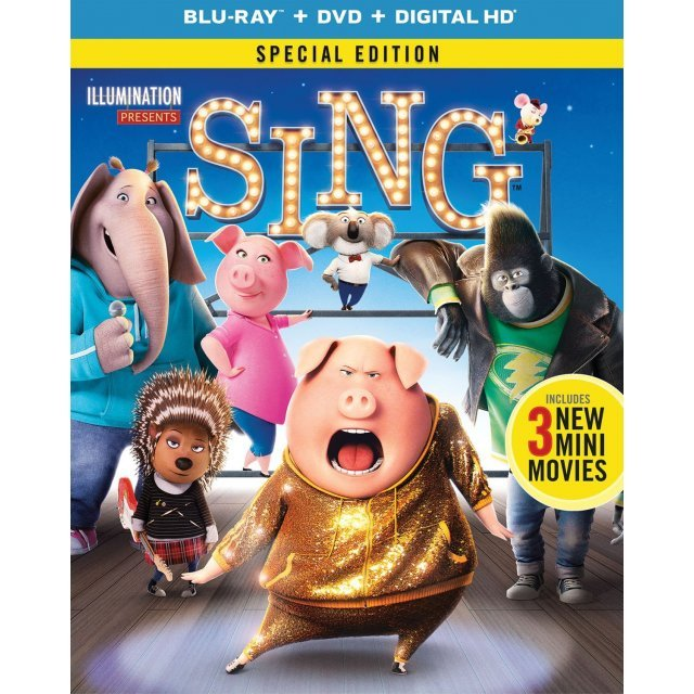 Sing (Special Edition) [Blu-ray+DVD+Digital HD]