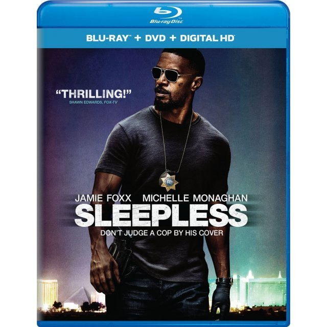 Sleepless [Blu-ray+DVD+Digital HD]