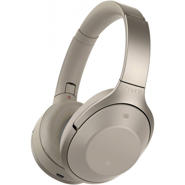 Sony MDR-1000X Noise Cancelling Bluetooth Headphones (Beige)
