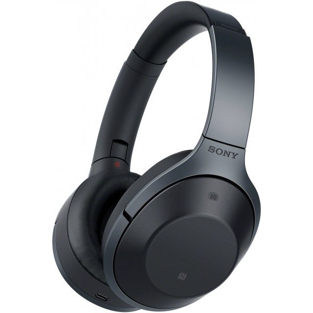 Sony MDR-1000X Noise Cancelling Bluetooth Headphones (Black)