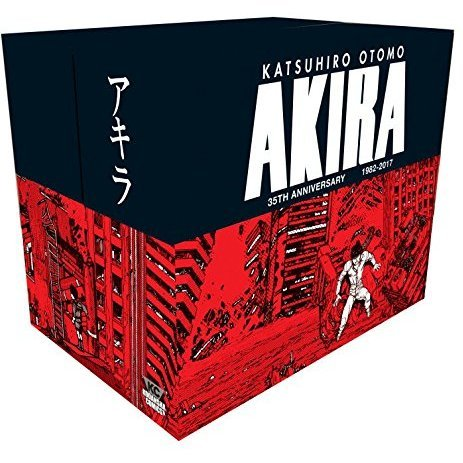 Akira 35th Anniversary Box Set (Hardcover)