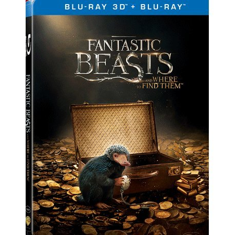 Fantastic Beasts and Where to Find Them 3D (2-Disc) (Steelbook)