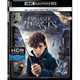 Fantastic Beasts and Where to Find Them (4K UHD+BD) (2-Disc)