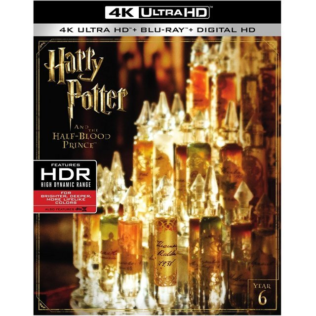 Harry Potter And The Half Blood Prince [4K Ultra HD Blu-ray]