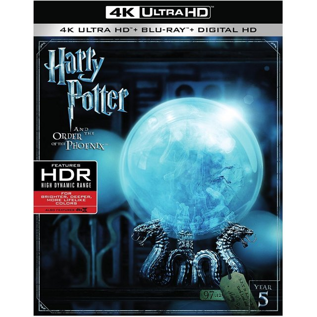 Harry Potter And The Order Of The Phoenix [4K Ultra HD Blu-ray]
