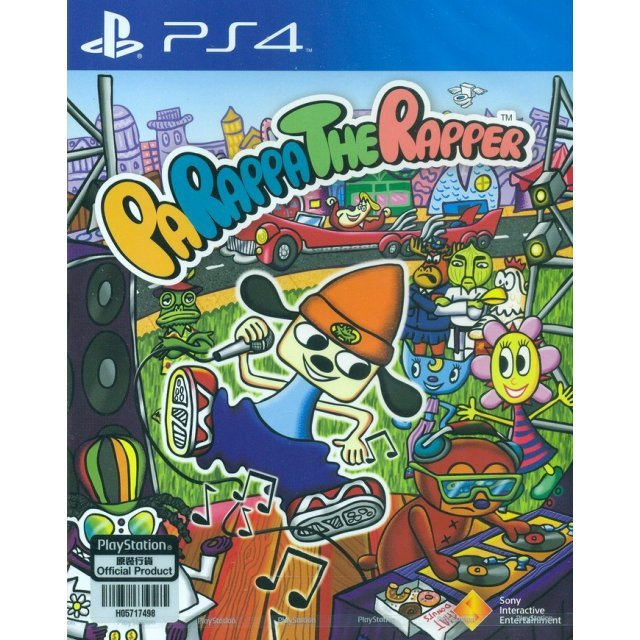 PaRappa The Rapper (English)