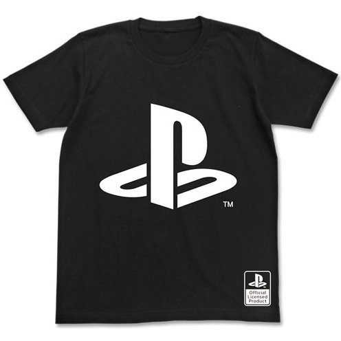 PlayStation Logo T-shirt Black (S Size) [Re-run]