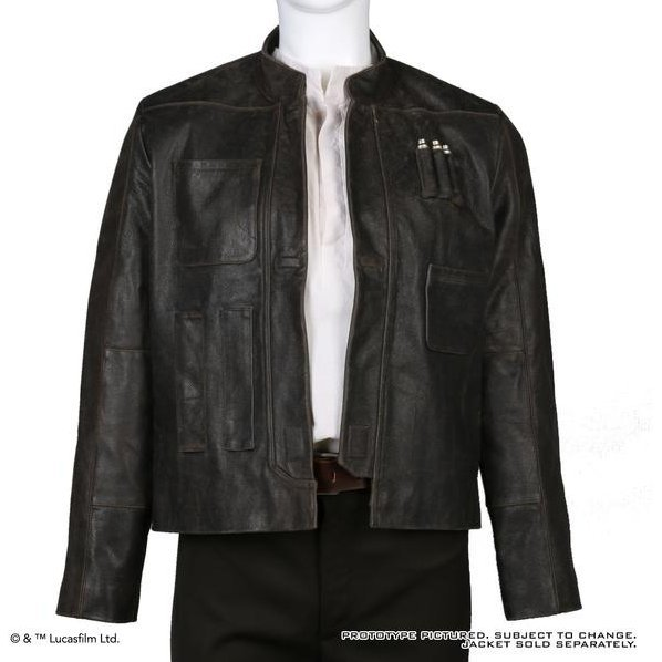 Star Wars: The Force Awakens Han Solo Jacket (S Size)