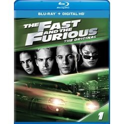 The Fast and the Furious (The Fate of the Furious Fandango Cash Version) [Blu-ray+Digital HD]