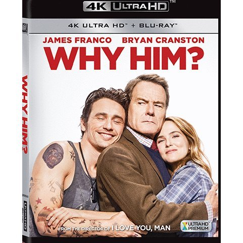 Why Him? (4K UHD+BD) (2-Disc)