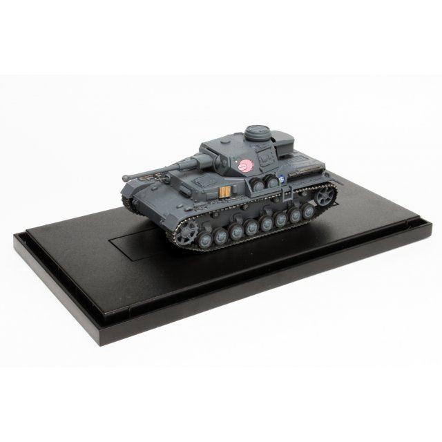 Girls und Panzer Tenohira Senshado Collection 1/72 Scale Model Kit: Pz. Kpfw. IV Ausf. D Kai (F2 Ver.) Team Ankou