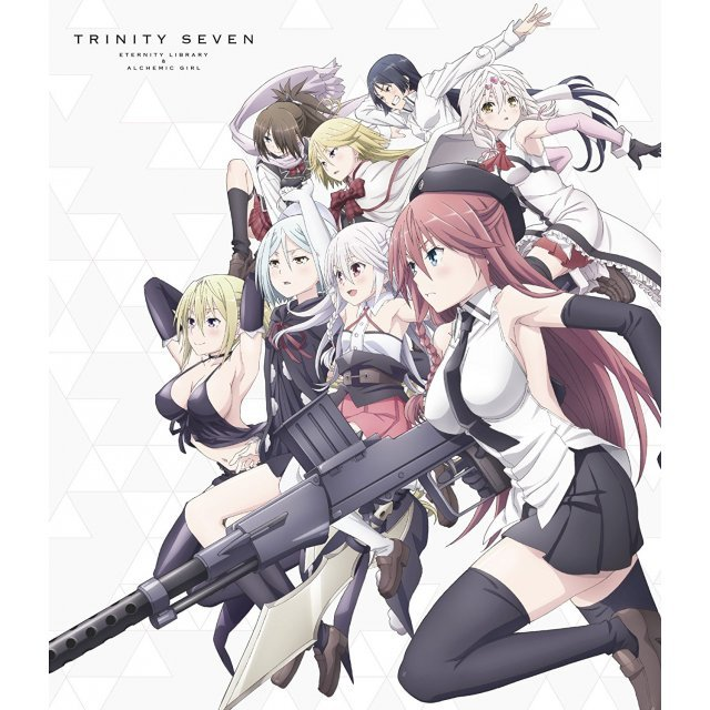 Trinity Seven The Movie: The Eternal Library And The Alchemist Girl