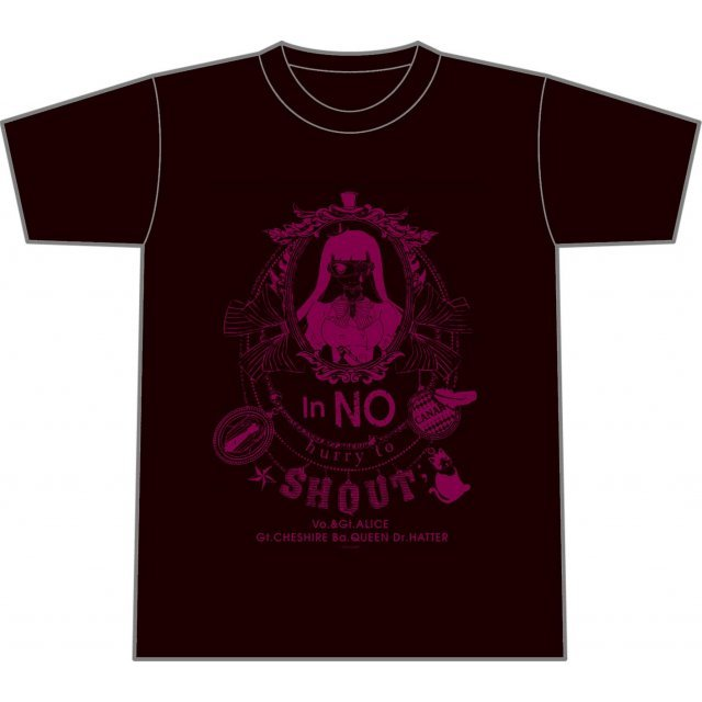 Anonymous Noise T-shirt In No Hurry To Shout Ver. (M Size)