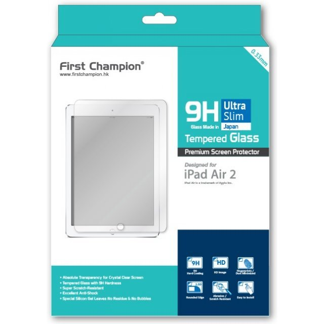 First Champion 9H Tempered Glass (iPad Air 2)