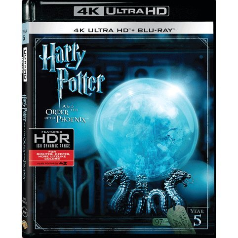 Harry Potter And The Order Of Phoenix (4K UHD+BD) (2-Disc)