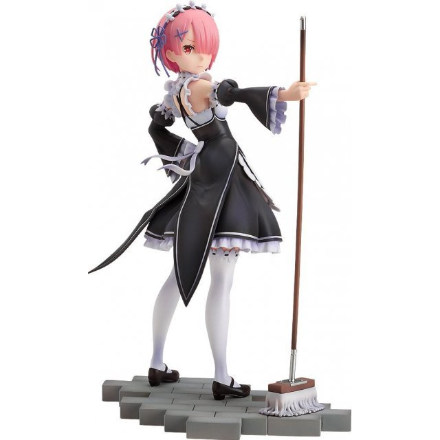 Re:ZERO Starting Life in Another World 1/7 Scale Pre-Painted Figure: Ram