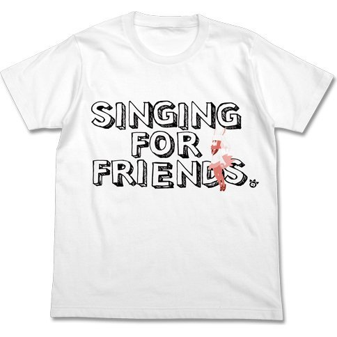 Kemono Friends Singing Toki T-shirt White (XL Size)