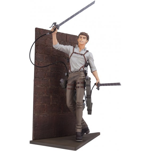 mensHdge Technical Statue No. 31 Attack on Titan: Jean Kirstein Survey Corps Ver.