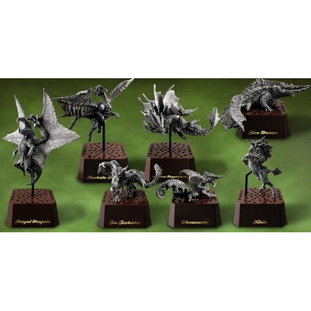Capcom Figure Builder Monster Hunter Stone Model Vol. 2 (Set of 6 pieces)