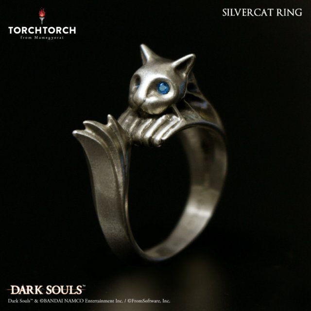 Dark Souls × TORCH TORCH / Ring Collection: Silvercat Ring Men's L / 21
