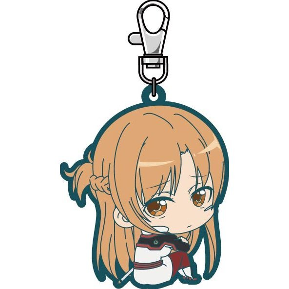 Sword Art Online The Movie -Ordinal Scale- Bocchi-kun Rubber Mascot: Asuna